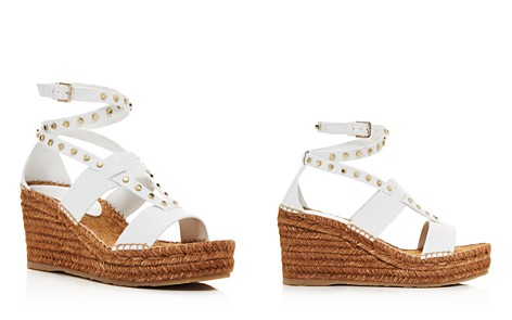Jimmy Choo Women's Danica 80 Leather Platform Wedge Sandals - Bloomingdale's_2