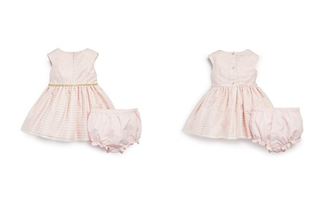 Pippa & Julie Girls' Metallic-Striped Dress & Bloomers Set - Baby - Bloomingdale's_2
