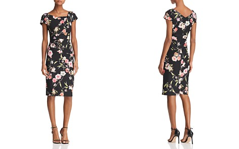 Adrianna Papell Tiffany Floral Sheath Dress - 100% Exclusive - Bloomingdale's_2