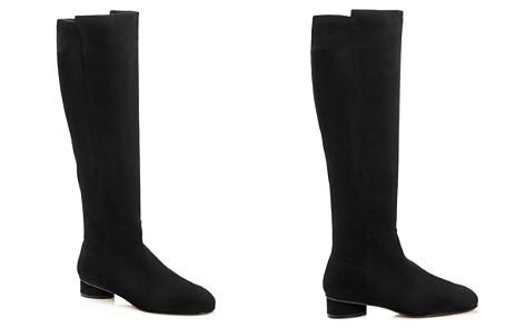 Stuart Weitzman Women's Eloise Suede Low-Heel Boots - Bloomingdale's_2