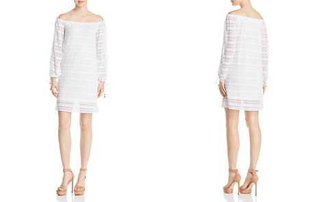 MICHAEL Michael Kors Lace Off-the-Shoulder Dress - Bloomingdale's_2