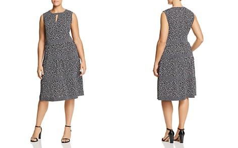 MICHAEL Michael Kors Plus Giraffe Border Print Dress - Bloomingdale's_2