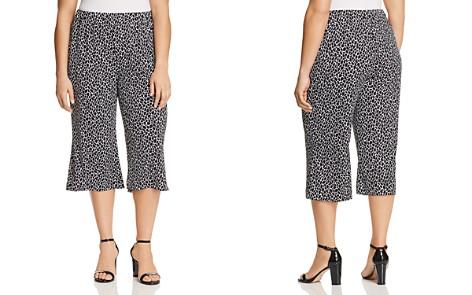 MICHAEL Michael Kors Plus Giraffe-Print Wide-Leg Crop Pants - Bloomingdale's_2