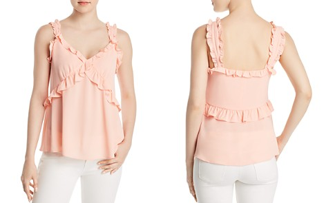 MICHAEL Michael Kors Ruffled Camisole Top - 100% Exclusive - Bloomingdale's_2