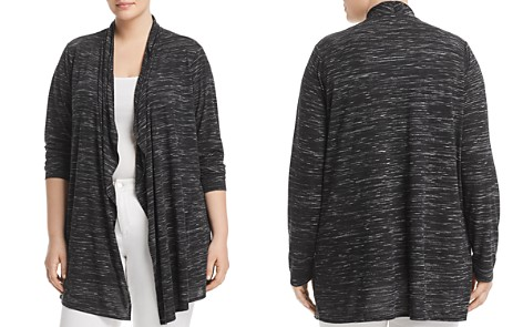 Marc New York Plus Space-Dyed Draped-Front Cardigan - Bloomingdale's_2