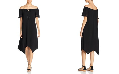Love Scarlett Off-the-Shoulder Handkerchief Dress - Bloomingdale's_2