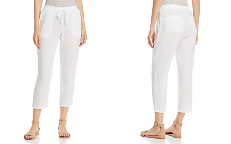 Three Dots Cropped Gauze Pants - Bloomingdale's_2