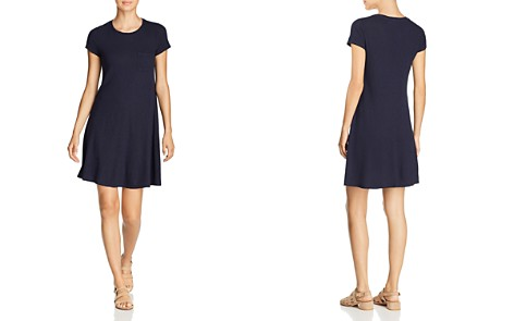 Three Dots Pocket Tee Dress - Bloomingdale's_2