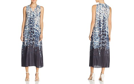 NIC+ZOE Tinago Abstract-Print Midi Shift Dress - Bloomingdale's_2