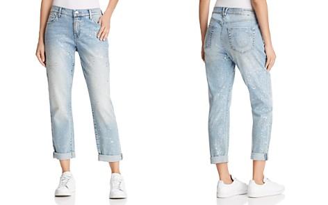 True Religion Cameron Slim Boyfriend Jeans in Chrome Constellation - Bloomingdale's_2