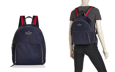 kate spade new york Watson Lane Hartley Varsity Stripe Nylon Backpack - Bloomingdale's_2