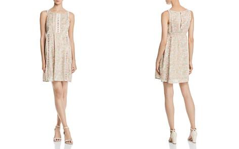 AQUA Crochet-Inset Floral Print Dress - 100% Exclusive - Bloomingdale's_2