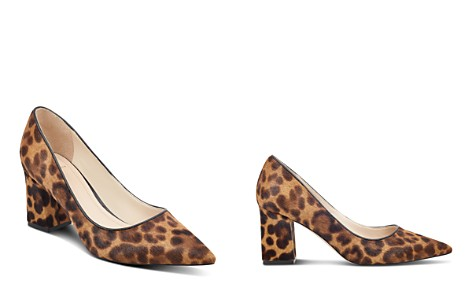Marc Fisher LTD. Women's Zalaly Leopard Print Calf Hair Pumps - Bloomingdale's_2