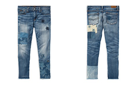Polo Ralph Lauren Girls' Patchwork Star Jeans - Big Kid - Bloomingdale's_2