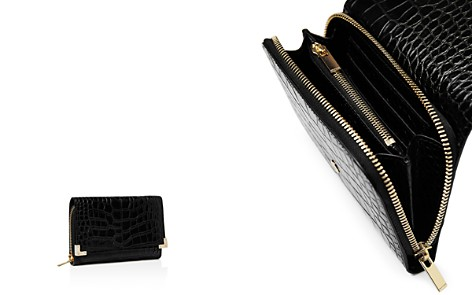 The Kooples Croc-Embossed Leather Wallet - Bloomingdale's_2