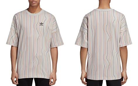 adidas Originals Warped Stripes Tee - Bloomingdale's_2