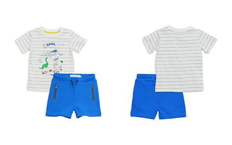 Sovereign Code Boys' Striped Graphic Tee & Ribbed Shorts Set - Baby - Bloomingdale's_2
