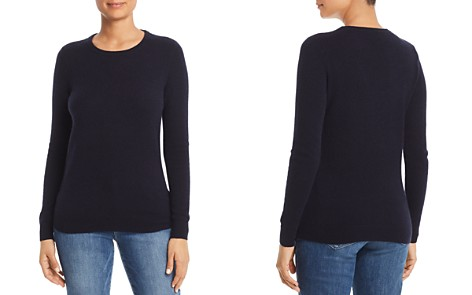 C by Bloomingdale's Crewneck Cashmere Sweater - 100% Exclusive _2