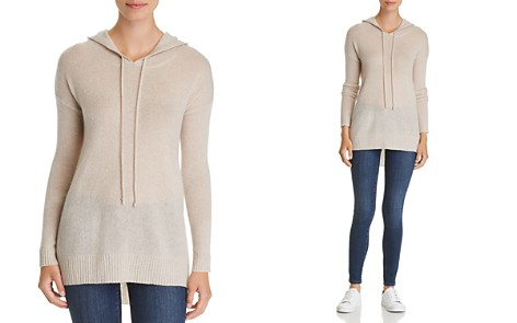 C by Bloomingdale's Long Cashmere Hooded Sweater - 100% Exclusive_2