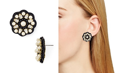kate spade new york Beaded Button Stud Earrings - Bloomingdale's_2