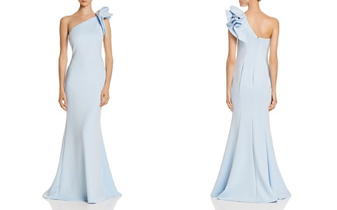 AQUA One-Shoulder Scuba Gown - 100% Exclusive - Bloomingdale's_2