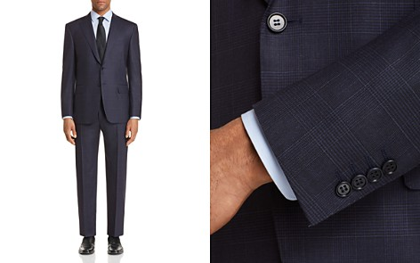 Canali Sienna Soft Impeccable Plaid Classic Fit Suit - 100% Exclusive - Bloomingdale's_2