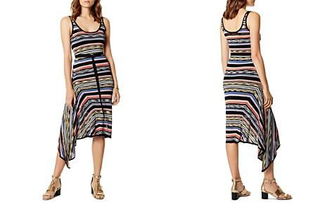 KAREN MILLEN Asymmetric Striped Dress - Bloomingdale's_2