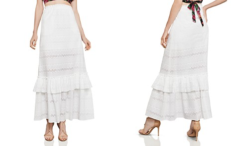BCBGMAXAZRIA Embroidered Maxi Skirt - Bloomingdale's_2