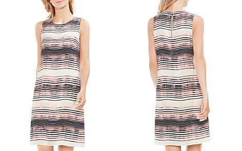 VINCE CAMUTO Striped Sleeveless Shift Dress - Bloomingdale's_2