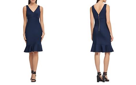 Donna Karan Fluted Scuba Dress - Bloomingdale's_2