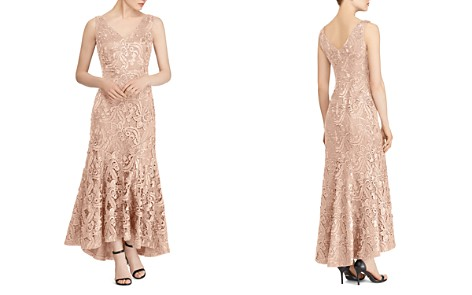 Lauren Ralph Lauren Fluted Lace Gown - Bloomingdale's_2