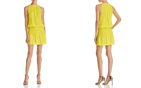 Ramy Brook Shirred Mini Dress - Bloomingdale's_2