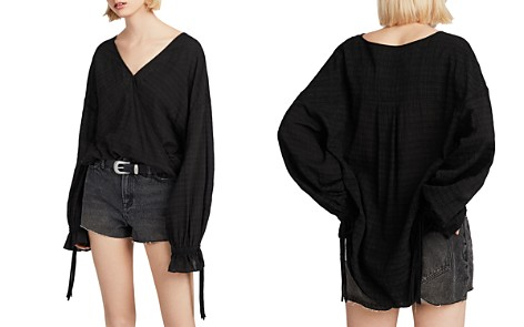 ALLSAINTS Penny Crossover Top - Bloomingdale's_2