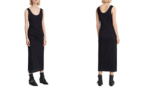 ALLSAINTS Tina Ruched Midi Dress - Bloomingdale's_2