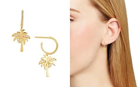 BAUBLEBAR Palma Hoop & Palm Tree Earrings - Bloomingdale's_2