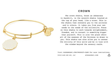 Alex and Ani Crown Chakra Expandable Charm Bracelet - Bloomingdale's_2