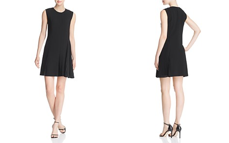 Theory Pleat-Detail Day Dress - Bloomingdale's_2