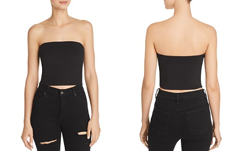 Sunset + Spring Strapless Cropped Top - 100% Exclusive - Bloomingdale's_2