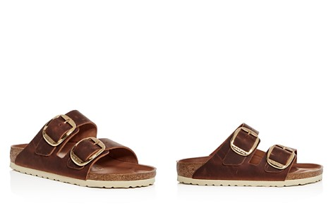 Birkenstock Women's Arizona Big Buckle Leather Slide Sandals - Bloomingdale's_2