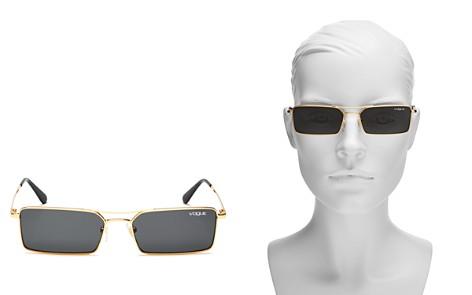 Vogue Eyewear Women's Gigi Hadid for Vogue Slim Square Sunglasses, 55mm - Bloomingdale's_2
