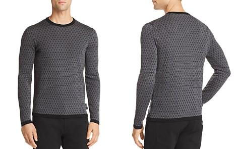 Emporio Armani Triangle Pattern Pullover - Bloomingdale's_2