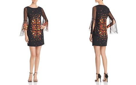 Elie Tahari Esmarella Floral Print Bell Sleeve Dress - Bloomingdale's_2