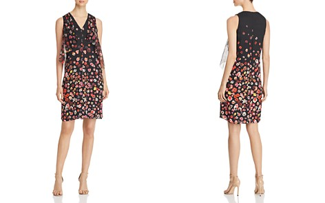 Elie Tahari Jezeble Ruffled Floral Print Silk Dress - Bloomingdale's_2