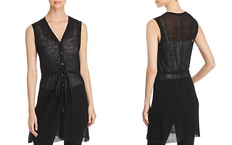 Eileen Fisher Sheer Ribbed Vest - Bloomingdale's_2