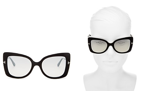 Tom Ford Women's Gianna Mirrored Square Sunglasses, 54mm - Bloomingdale's_2