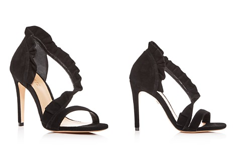 SCHUTZ Women's Aime Ruffled Suede High-Heel Sandals - Bloomingdale's_2
