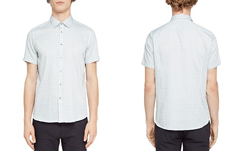 Ted Baker Modmo Dot Circle Regular Fit Button-Down Shirt - Bloomingdale's_2