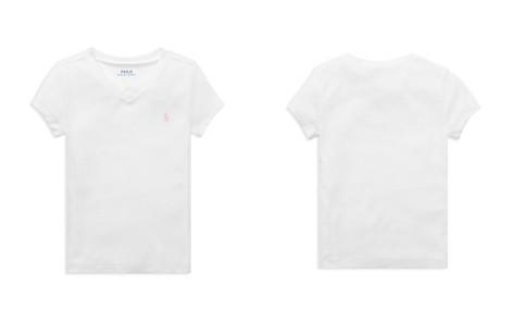 Polo Ralph Lauren Girls' V-Neck Tee - Little Kid - Bloomingdale's_2