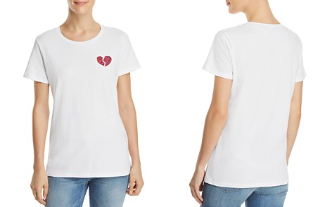 FRENCH CONNECTION Floral-Heart Graphic Tee - Bloomingdale's_2
