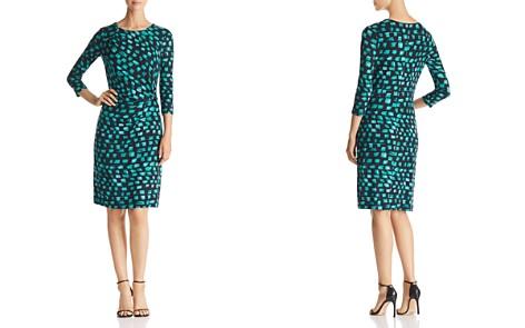 NIC+ZOE Vivid Print Twist-Front Dress - Bloomingdale's_2